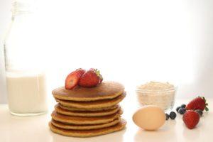 Gourmet Pancakes with Frsh Fruit