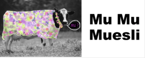 The Mu Mu Cow, mascot for Mu Mu Muesli's healthy breakfast foods store