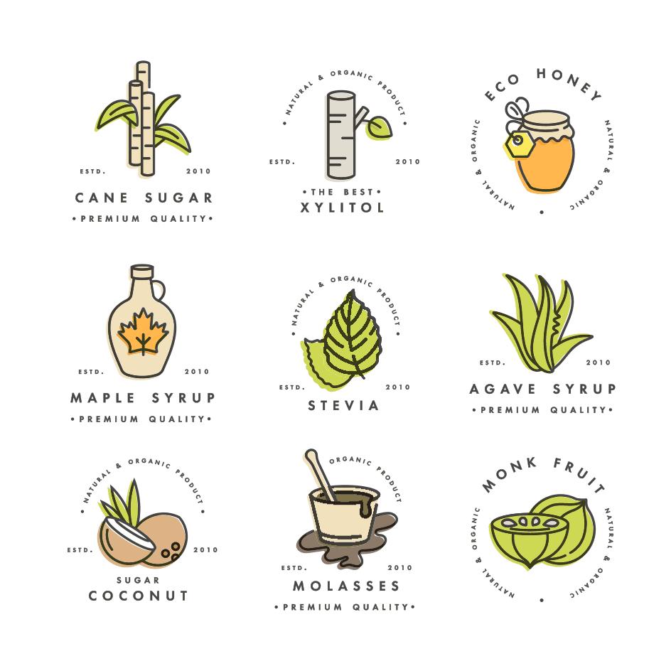 Natural sugar substitutes