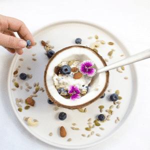 Healthy Vegetarian Smoothie Bowls