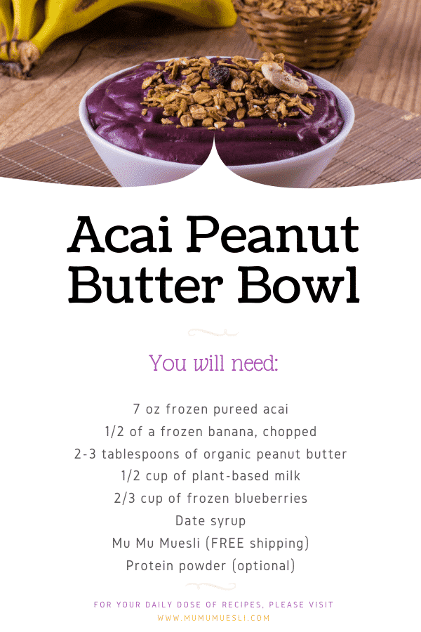 health benefits of acai berries and DIY acai smoothie bowls