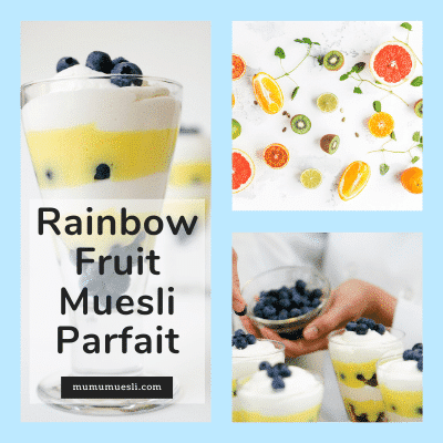 High Fiber Yogurt and Muesli Breakfast Recipe