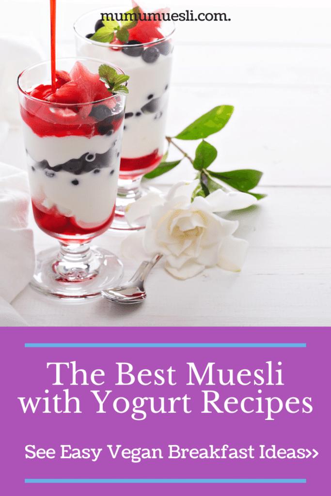 Muesli with Yogurt Recipes