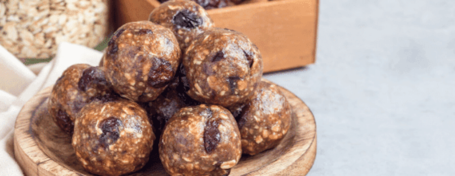 How to Make Peanut Butter Almond Muesli Cereal Balls