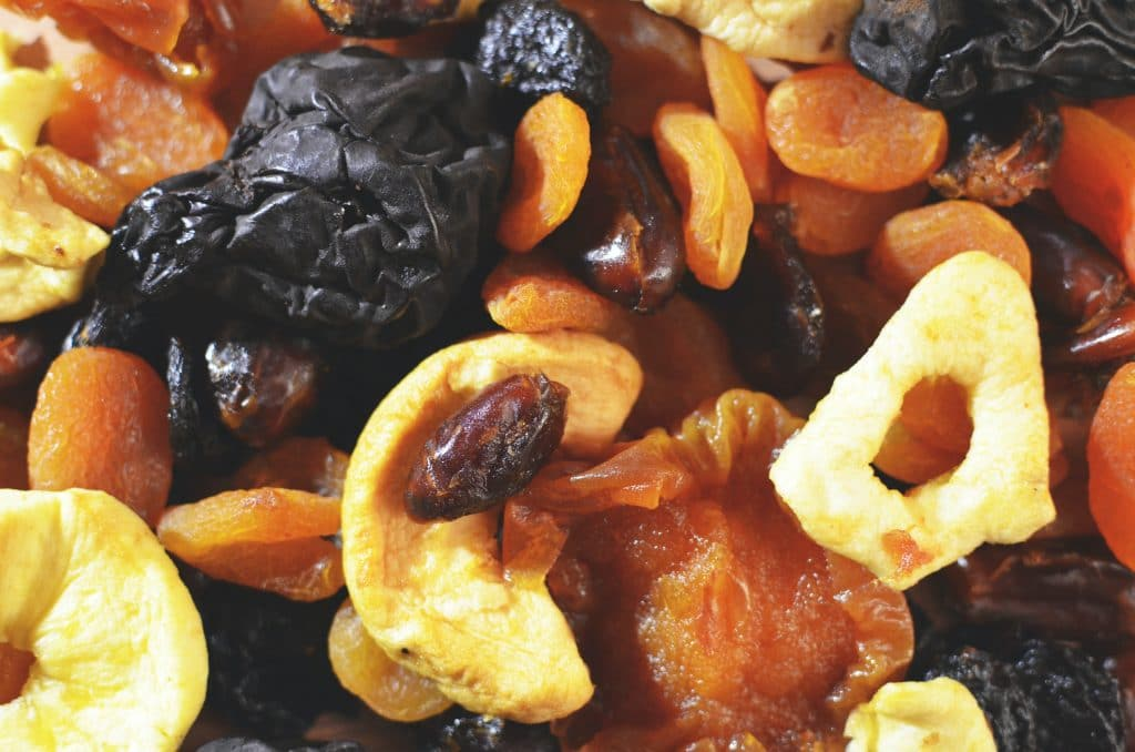 dried fruit trail mix for healthy post workout snacks